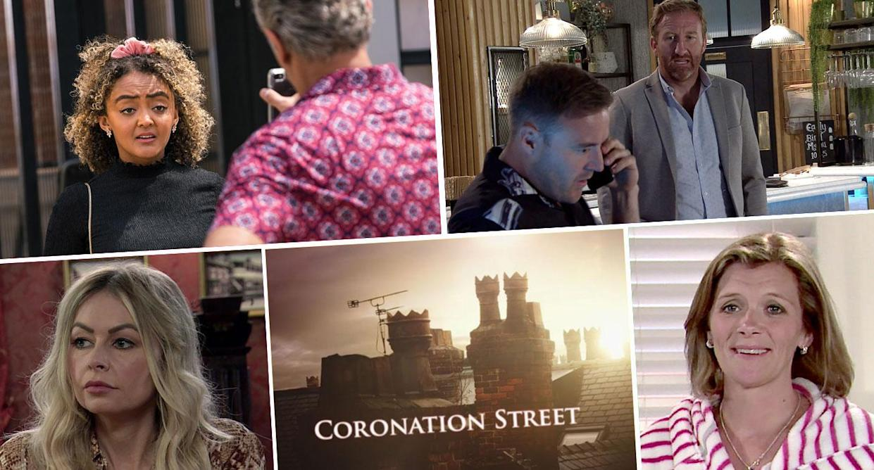 Take a look ahead on Corrie (ITV)