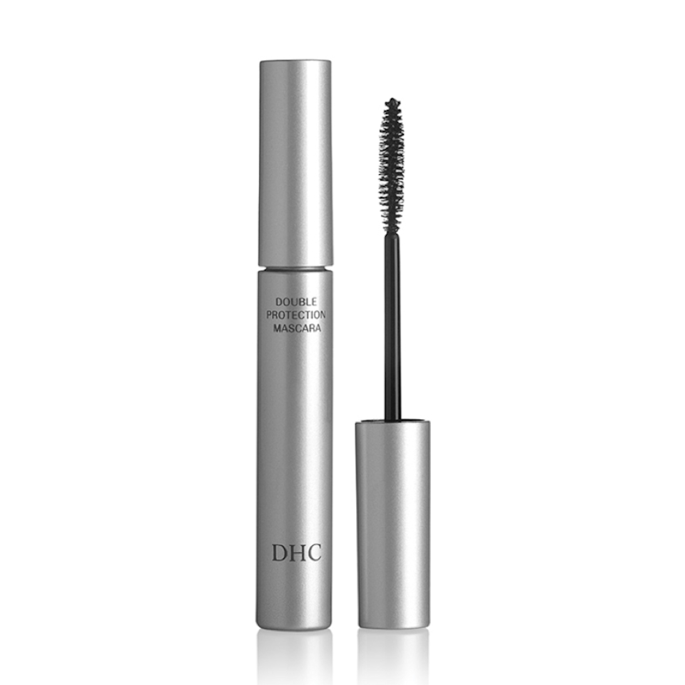 """<p>While many all-natural mascaras fall flat, DHC's Double Protection Mascara lengthens and separates like the best of them. The formula contains polymer fibers that wrap around lashes plus beeswax and vitamin E to give them a healthy sheen and conditioning treatment to boot.</p> <p><strong>$19</strong> (<a href=""""https://www.amazon.com/DHC-Mascara-Perfect-Double-Protection/dp/B001UN70Y0"""" rel=""""nofollow noopener"""" target=""""_blank"""" data-ylk=""""slk:Shop Now"""" class=""""link rapid-noclick-resp"""">Shop Now</a>)</p>"""