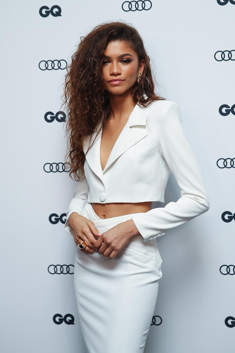 Zendaya Makes the Case for a Red Carpet Ab Reveal