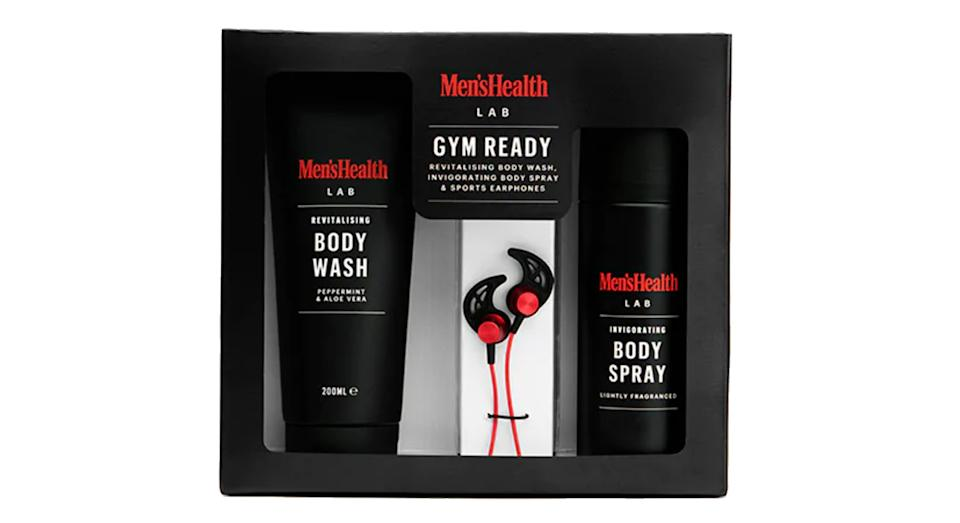 Men's Health Gym Ready Earphones & Body Gift Set