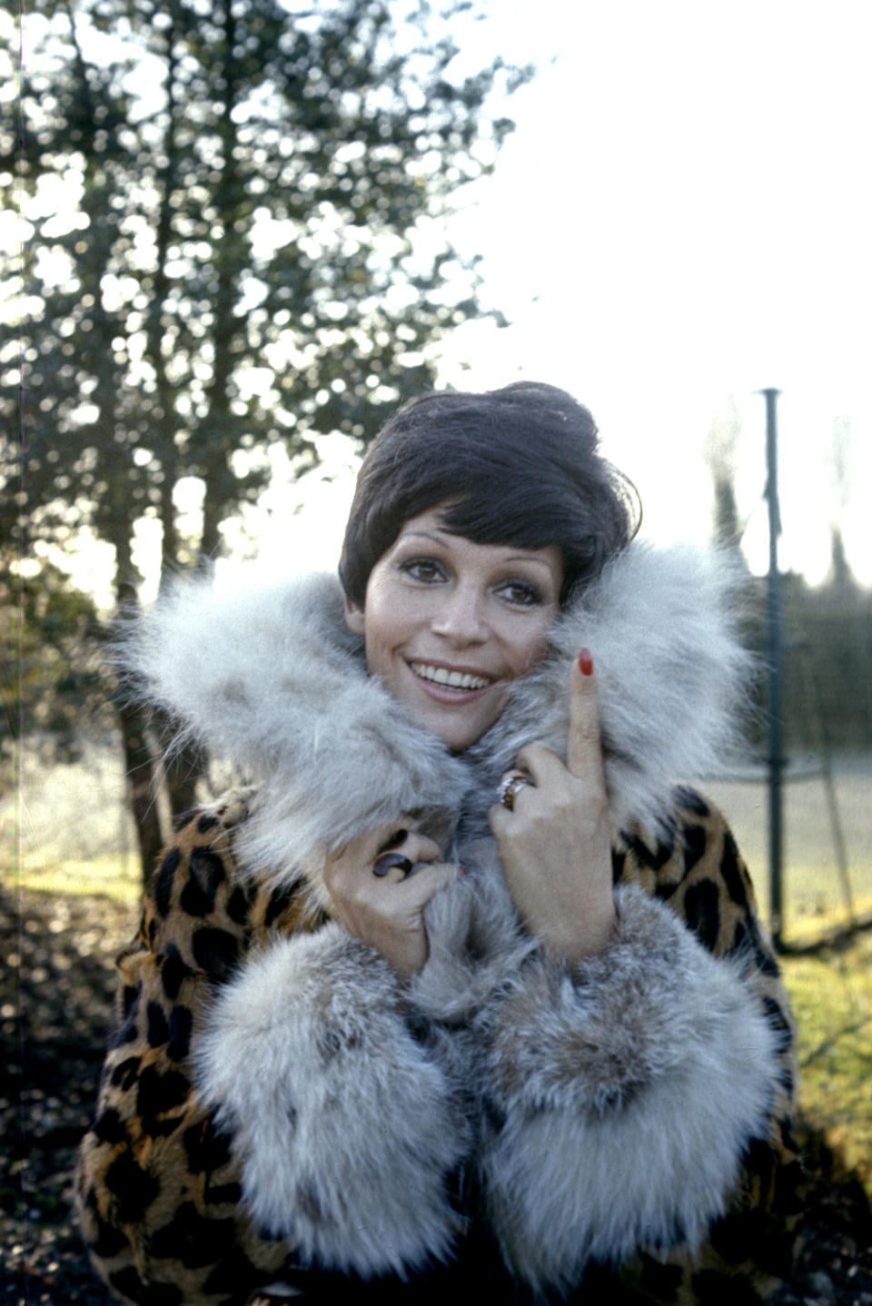 <p>L'attrice italiana nel 1973 (Photo by Anwar Hussein/Getty Images)</p>