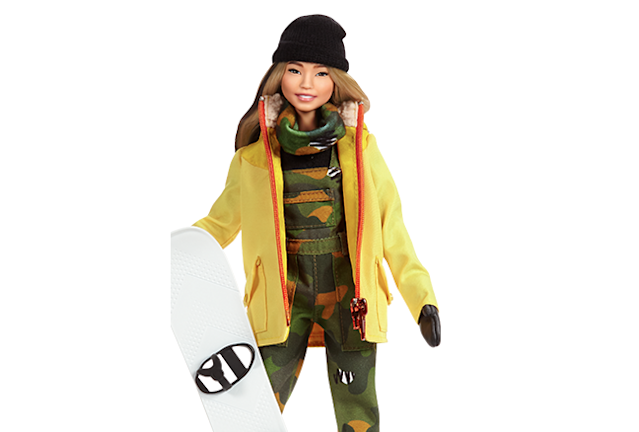 Chloe Kim is getting her very own Barbie. (barbie.mattel.com)