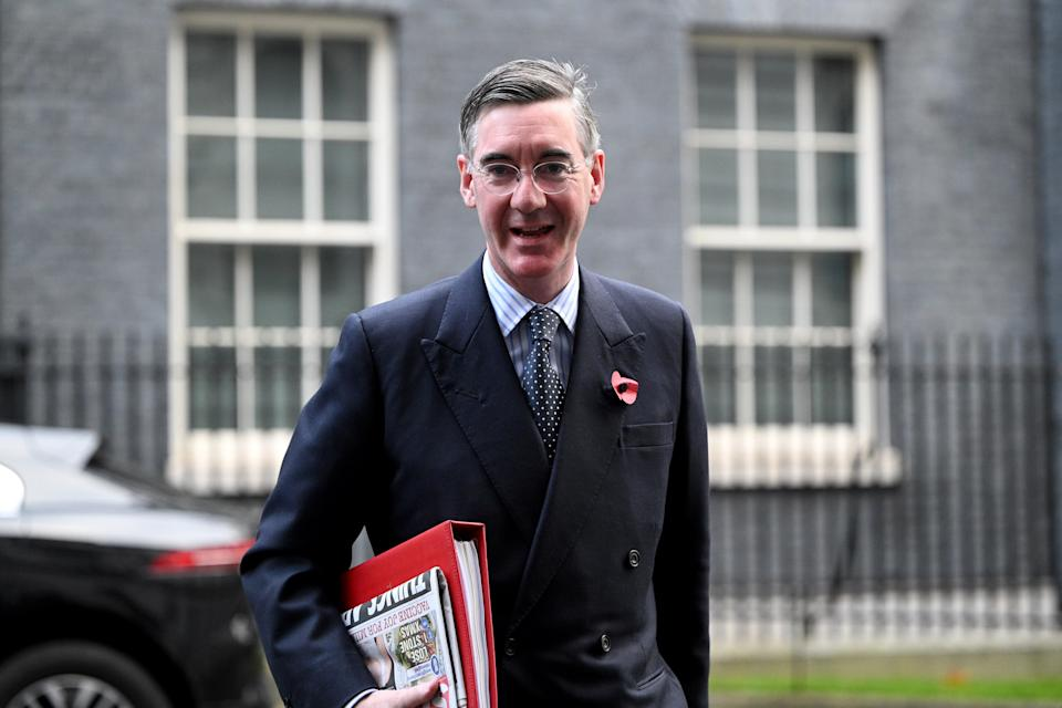 Commons leader Jacob-Rees Mogg announced the move (Getty Images)