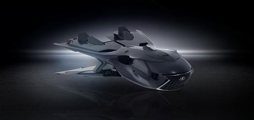 First-ever Lexus space jet idea has specs you've never heard of, until now