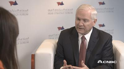 Former U.S. Defense Secretary Robert Gates speaks about American and Russian influence in the Middle East.