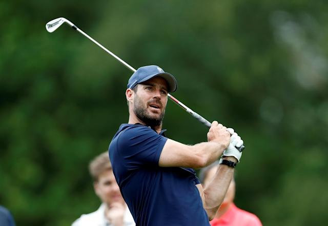 Golf - European Tour - BMW PGA Championship - Wentworth Club, Virginia Water, Britain - May 23, 2018 Jamie Redknapp during the Pro-AM Action Images via Reuters/Paul Childs