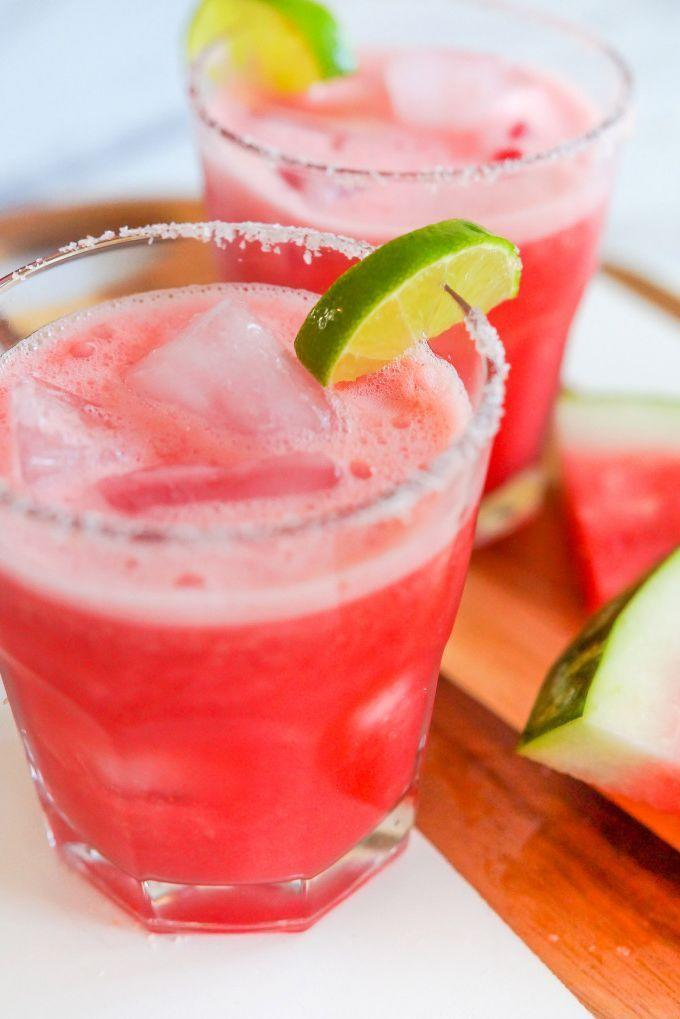 """<p>Watermelon, lime, and simple syrup are all you need to make this simple (and simply delicious) summer mocktail. </p><p><strong><em>Get the recipe at <a href=""""https://www.thepioneerwoman.com/food-cooking/recipes/a102708/watermelon-margarita-mocktails/"""" rel=""""nofollow noopener"""" target=""""_blank"""" data-ylk=""""slk:The Pioneer Woman"""" class=""""link rapid-noclick-resp"""">The Pioneer Woman</a>. </em></strong></p>"""