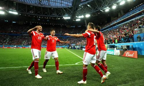 'Ros! Si! Ya!' Energised Russia is one nation under a World Cup chant