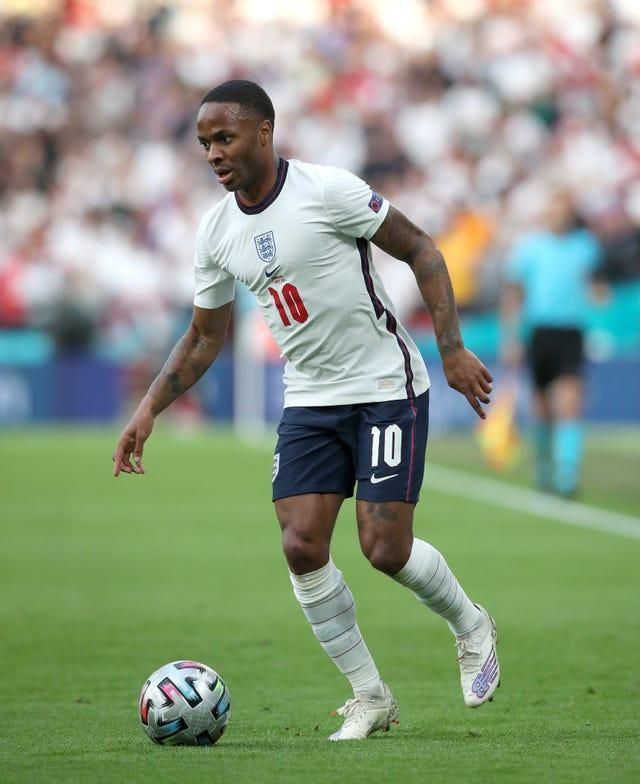 Raheem Sterling was heavily involved again as England beat Denmark
