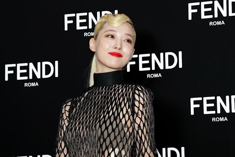 Sulli attends the photocall for FENDI on 3 September, 2019. in Seoul, South Korea. (Getty Images file photo)