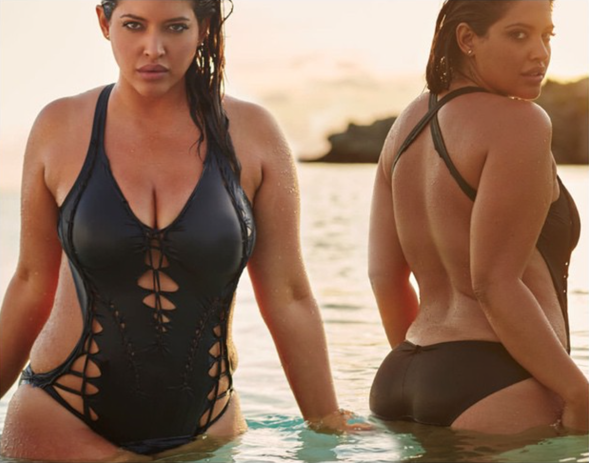 <p>Bidot is a Miami native with Puerto Rican and Kuwaiti heritage and a killer smoulder. She recently starred alongside Philomela Kwao in a Lane Bryant ad and is the founder of the No Wrong Way Movement, a group that encourages everyone to embrace their most authentic self. <em>(Photo: Instagram/denisebidot)</em> </p>