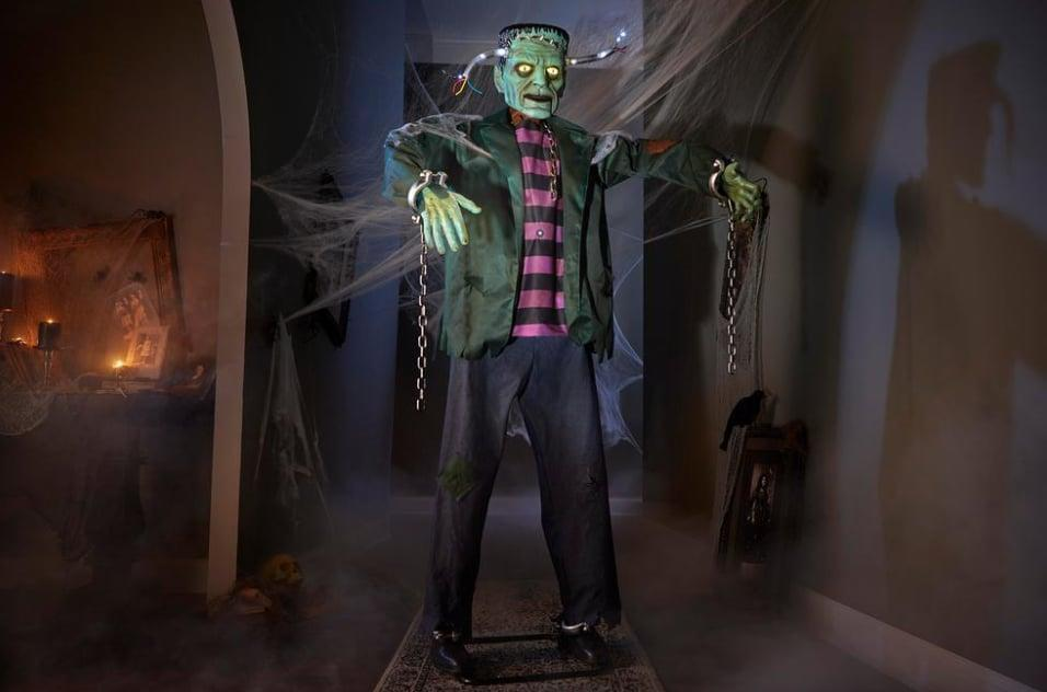 <p>Standing over six feet tall, Home Depot's <span>Animated Electrified Monster</span> ($169) features motion-activated technology, guaranteed to majorly spook your guests and neighbors. </p>