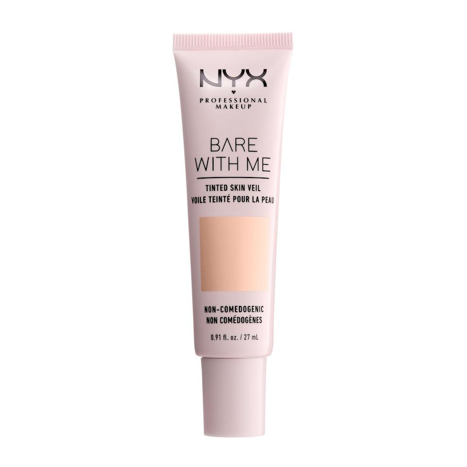 """<p><strong>NYX PROFESSIONAL MAKEUP</strong></p><p>walmart.com</p><p><strong>$9.31</strong></p><p><a href=""""https://go.redirectingat.com?id=74968X1596630&url=https%3A%2F%2Fwww.walmart.com%2Fip%2F193427216&sref=https%3A%2F%2Fwww.thepioneerwoman.com%2Fbeauty%2Fskin-makeup-nails%2Fg36969963%2Fbest-drugstore-tinted-moisturizer%2F"""" rel=""""nofollow noopener"""" target=""""_blank"""" data-ylk=""""slk:Shop Now"""" class=""""link rapid-noclick-resp"""">Shop Now</a></p><p>If you're looking for a satin finish and a little more coverage, try this tinted moisturizer. The creamy yet weightless formula sets once applied and stays put without flaking, separating, or rubbing off.</p>"""