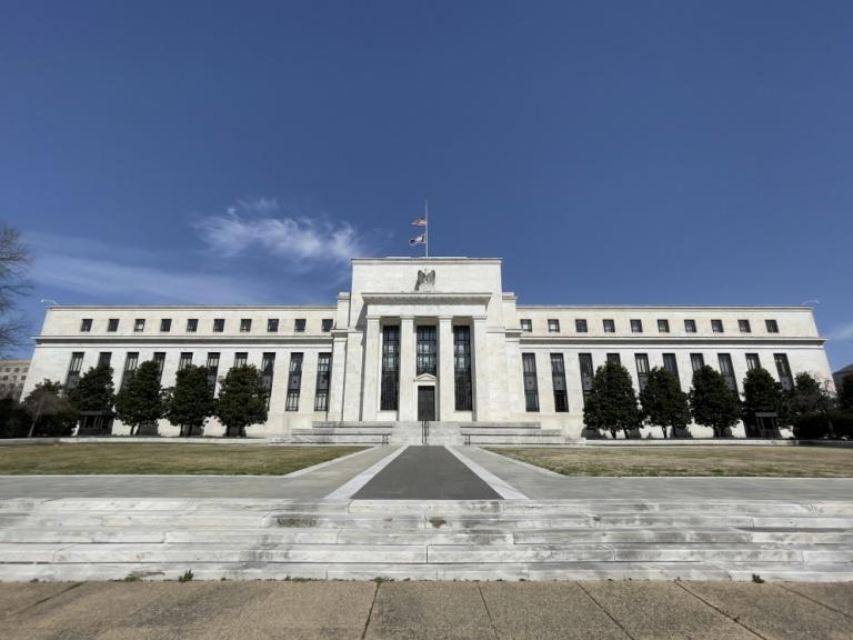 The Federal Reserve's stimulus policies have been credited with helping the US economy recover from the Covid-19 pandemic (AFP/Daniel SLIM)