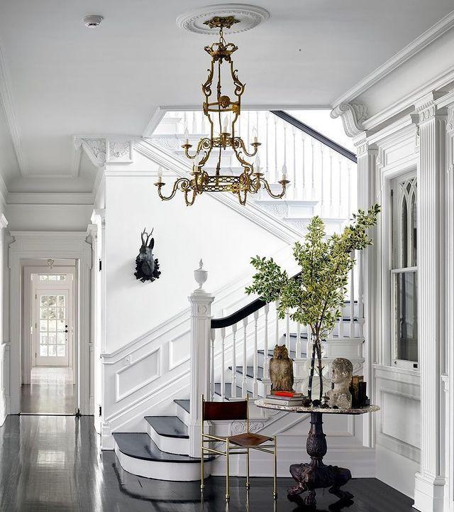 "<p>For Michael Bruno, founder of 1stdibs, a house in New York's famed Tuxedo Park is not only the fulfillment of a childhood dream, it's become a retreat more elegant than he could have imagined.</p><p><a class=""link rapid-noclick-resp"" href=""https://www.elledecor.com/design-decorate/house-interiors/news/g2586/house-tour-michael-bruno/"" rel=""nofollow noopener"" target=""_blank"" data-ylk=""slk:TOUR THE HOME"">TOUR THE HOME</a></p><p><a href=""https://www.instagram.com/p/CBN_diRp_yS/"" rel=""nofollow noopener"" target=""_blank"" data-ylk=""slk:See the original post on Instagram"" class=""link rapid-noclick-resp"">See the original post on Instagram</a></p>"