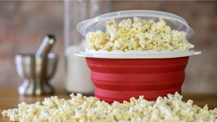 A popcorn maker to make you feel like you're at the movies