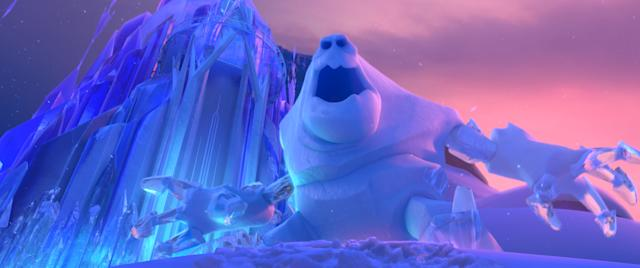 Marshmallow from the original <em>Frozen</em> has a cameo in <em>Frozen 2</em>. (Photo: Walt Disney Pictures/courtesy Everett Collection)