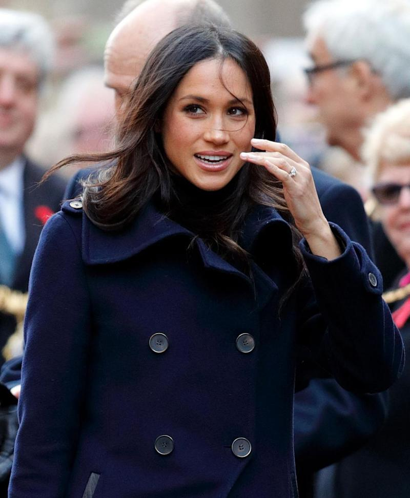 Meghan is said to be staying out of things. Photo: Getty Images