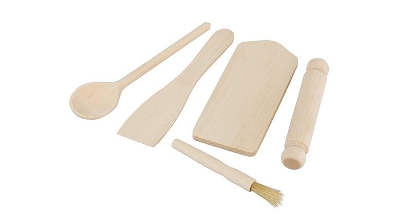Tala FSC Certified Beechwood Kids Baking Set