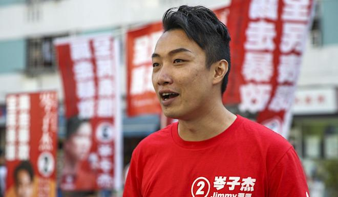 """Jimmy Sham said the march arrangements were """"not perfect but we accept them anyway"""". Photo: Winson Wong"""