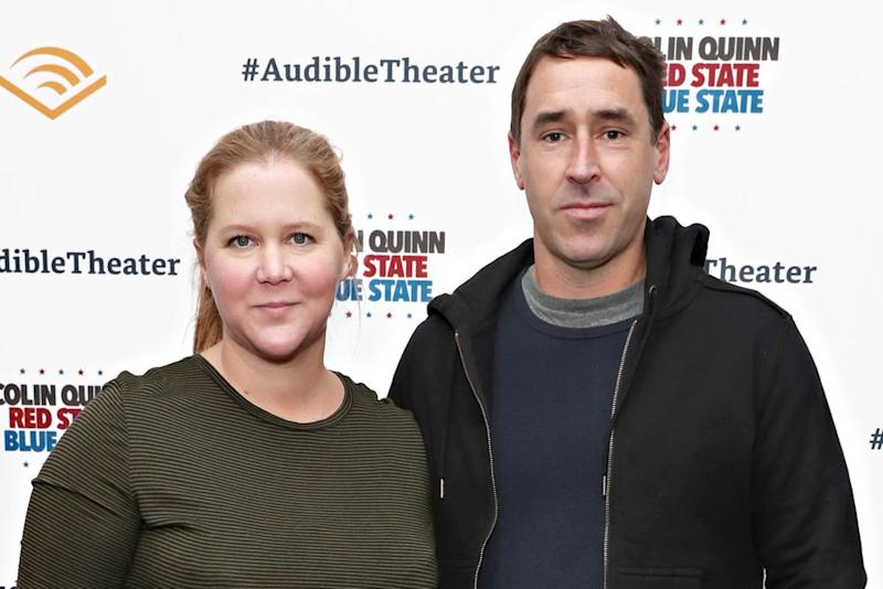 Amy Schumer and Chris Fischer | Cindy Ord/Getty Images for Red State Blue State