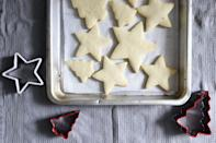 "<p><strong>Recipe: <a href=""https://www.southernliving.com/recipes/easy-sugar-cookie"" rel=""nofollow noopener"" target=""_blank"" data-ylk=""slk:Easy Sugar Cookies"" class=""link rapid-noclick-resp"">Easy Sugar Cookies</a></strong></p> <p>With this go-to sugar cookie recipe, the grandkids can decorate them any way they want.</p>"