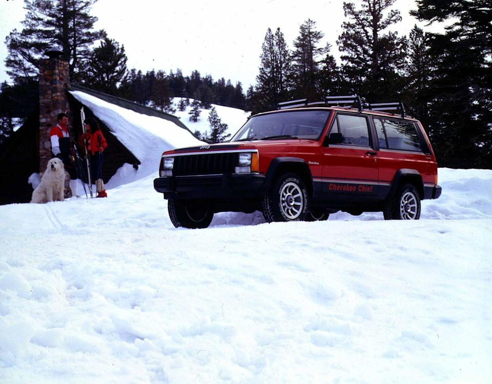 """<p>In that time, it became the everycar: a suburban family hauler, a right-size work vehicle, an off-roader's plaything, even a right-hand-drive mail truck for rural post offices. The family-friendly SUV market may have advanced far and fast beyond the original """"XJ"""" Cherokee, but for 17 years it defined the genre, a reign whose length and breadth we'll likely never see again. <em>—Robert Sorokanich</em></p>"""
