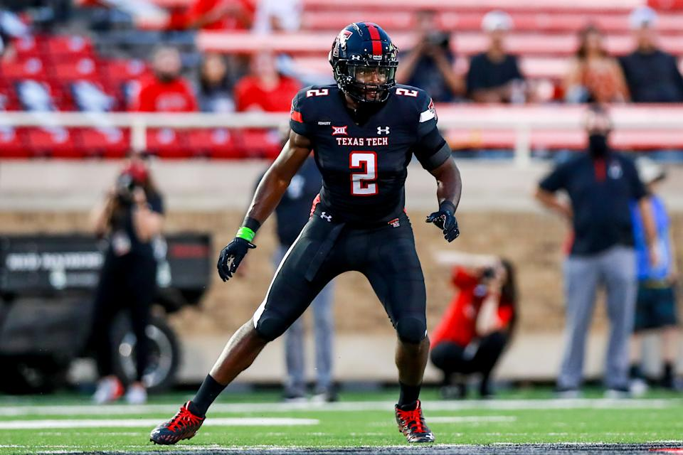 Linebacker Brandon Bouyer-Randle of the Texas Tech Red Raiders