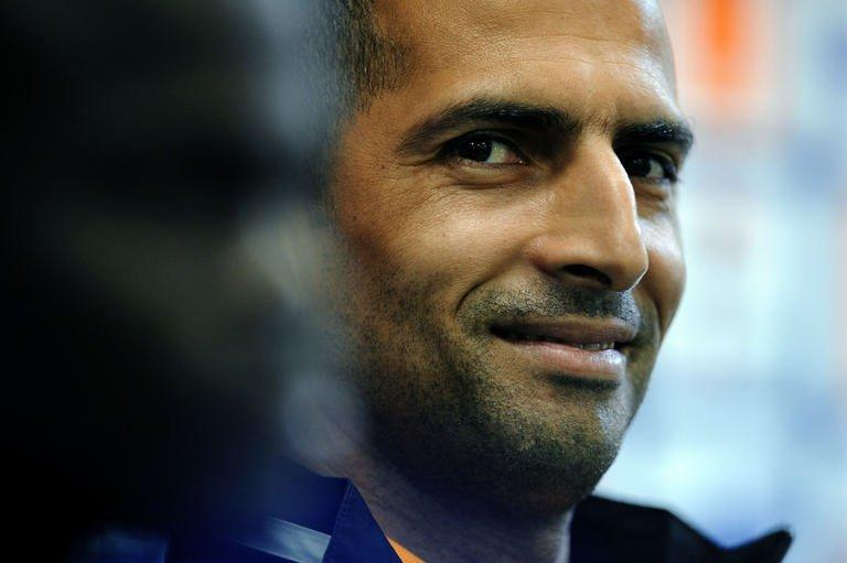 Ivory Coast national football team head coach Sabri Lamouchi gives a press conference in Rustenburg on February 1, 2013