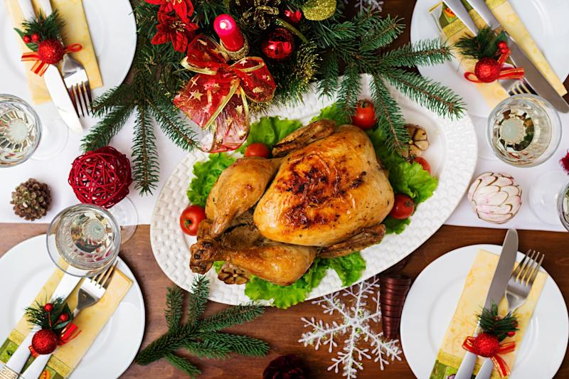 One of the traditional elements of a British Christmas dinner is on the decline, with young people swapping Christmas puddings for chocolate yule logs (Getty Images)