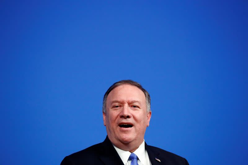 Pompeo says U.S. will help prevent Latin American protests becoming riots