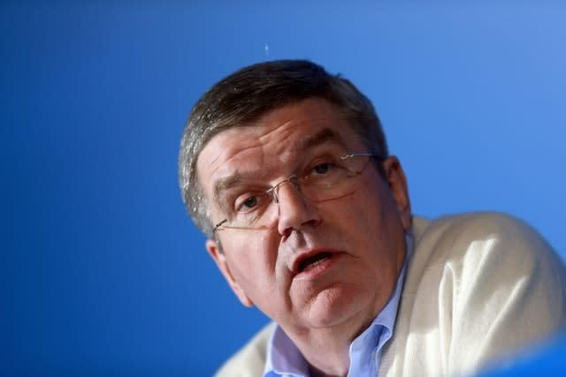 """Thomas Bach is intending to take a more """"frugal"""" approach to the Tokyo Olympics (David Davies/PA)"""