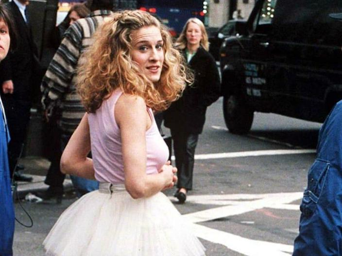 carrie bradshaw opening sequence satc