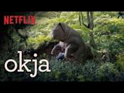 "<p><em>Okja</em> is a 2017 movie from the Academy Award winning director of <em>Parasite</em>, Bong Joon-ho. The movie centers around super pig Okja, bred by the Mirando Company and raised on a South Korean farm by the young Mija. Though Okja and Mija are best friends, the CEO of Mirando has bigger plans for Okja and the super pig gets sent to New York City, leading MIja on an adventure to save Okja and expose the Mirando Corporation. </p><p><a class=""link rapid-noclick-resp"" href=""https://www.netflix.com/search?q=okja&jbv=80091936"" rel=""nofollow noopener"" target=""_blank"" data-ylk=""slk:Watch Now"">Watch Now</a></p><p><a href=""https://www.youtube.com/watch?v=AjCebKn4iic"" rel=""nofollow noopener"" target=""_blank"" data-ylk=""slk:See the original post on Youtube"" class=""link rapid-noclick-resp"">See the original post on Youtube</a></p>"