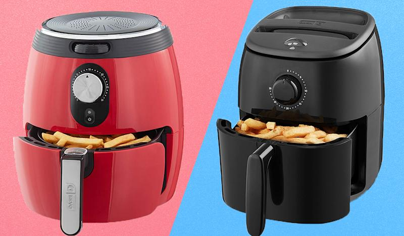 Score up to 35 percent off Dash air fryers. (Photo: Amazon)