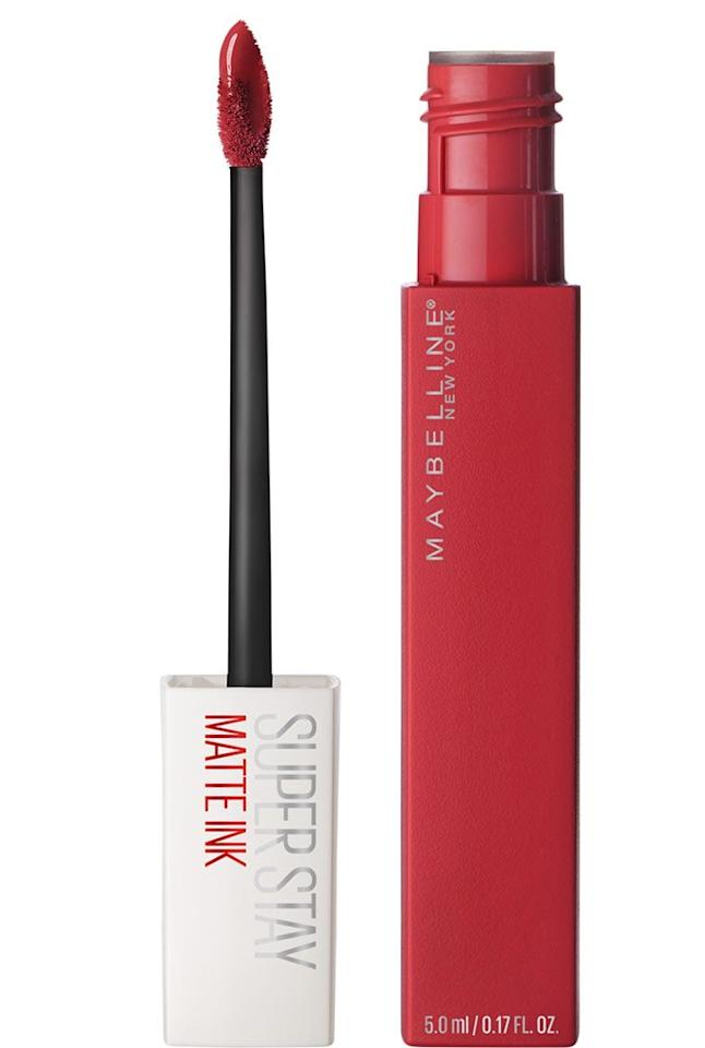 """<p>Ask any beauty editor what their first impression of the <a href=""""https://www.popsugar.com/buy/Maybelline-SuperStay-Matte-Ink-Liquid-Lipstick-396949?p_name=Maybelline%20SuperStay%20Matte%20Ink%20Liquid%20Lipstick&retailer=maybelline.com&pid=396949&price=10&evar1=bella%3Aus&evar9=46689187&evar98=https%3A%2F%2Fwww.popsugar.com%2Fbeauty%2Fphoto-gallery%2F46689187%2Fimage%2F46689390%2FMaybelline-SuperStay-Matte-Ink-Liquid-Lipstick&list1=makeup%2Cbeauty%20products%2Clipstick&prop13=mobile&pdata=1"""" rel=""""nofollow"""" data-shoppable-link=""""1"""" target=""""_blank"""" class=""""ga-track"""" data-ga-category=""""Related"""" data-ga-label=""""http://www.maybelline.com/lip-makeup/lipstick/superstay-matte-ink-liquid-lipstick"""" data-ga-action=""""In-Line Links"""">Maybelline SuperStay Matte Ink Liquid Lipstick</a> ($10) was, and the answers will be variations of """"it does not move"""" or """"it won't come off!"""" This lipstick will last through anything from back-to-back beverages to midnight makeout sessions, but be warned: it has grip, and you might need <a href=""""http://www.popsugar.com/beauty/photo-gallery/43730225/image/43730230/Maybelline-Superstay-Lip-Color-Remover"""" class=""""ga-track"""" data-ga-category=""""Related"""" data-ga-label=""""http://www.popsugar.com/beauty/photo-gallery/43730225/image/43730230/Maybelline-Superstay-Lip-Color-Remover"""" data-ga-action=""""In-Line Links"""">a little help taking this one off</a>.</p>"""