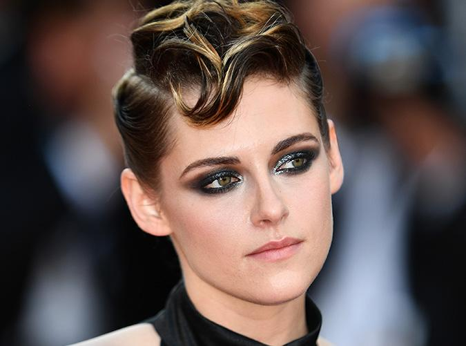 <p>Always one to push the boundaries, Kristen's glinty eye shadow and pompadour at Cannes this year had us mesmerized.</p>