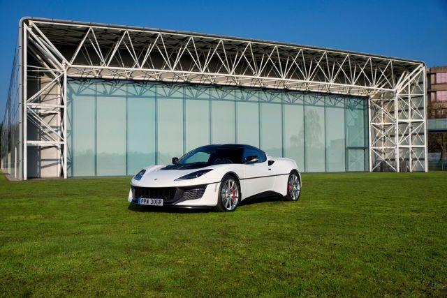 Unique Lotus Evora Sport 410 honors iconic Esprit S1