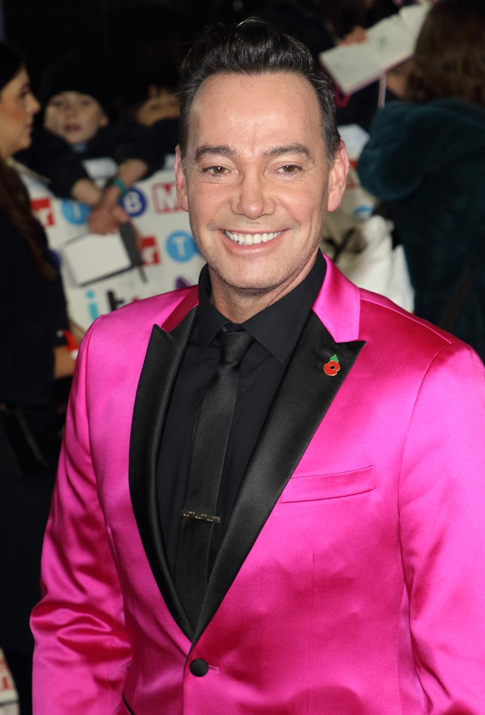 Craig Revel Horwood on the red carpet at The Daily Mirror Pride of Britain Awards, in partnership with TSB, at the Grosvenor House Hotel, Park Lane. (Photo by Keith Mayhew / SOPA Images/Sipa USA)