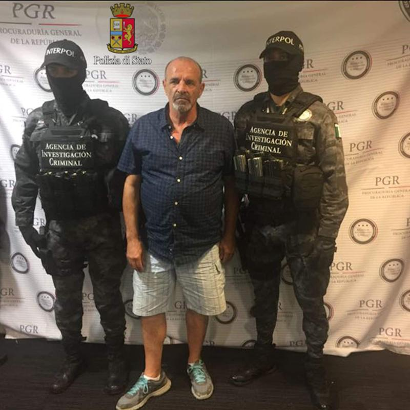 Giulio Perrone, 65, a convicted drug smuggler, was arrested with help from Facebook - AFP or licensors