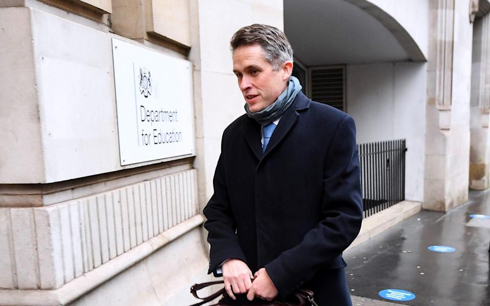 Gavin Williamson, Secretary of State for Education, arrives at the Department of Education - James Veysey/Shutterstock