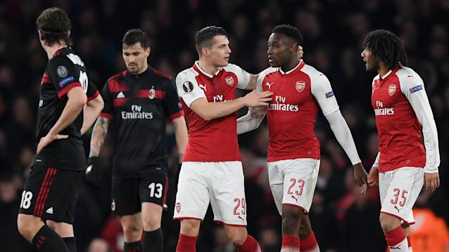 The Gunners are in the quarter-finals European continental competition for the first time since the 2009-10 Champions League