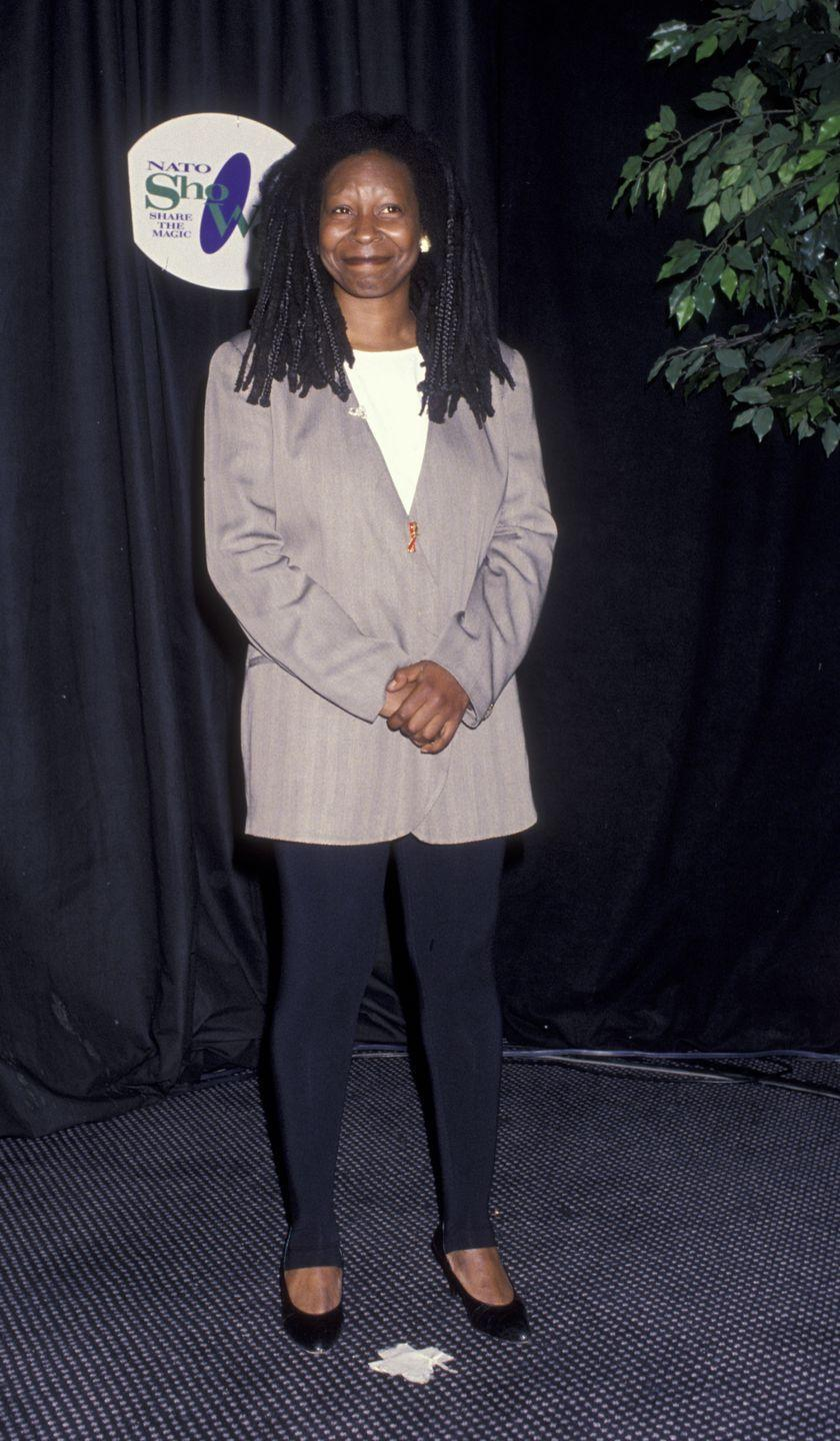 <p>Although she was big in the '80s too, Whoopi Goldberg's career really took off in the '90s with roles in movies like<em> Ghost, Sister Act, Eddie</em>, and <em>How Stella Got Her Groove Back</em>, and her talk show, <em>The Whoopi Goldberg Show</em>. Goldberg also made history as the first black woman to win the Academy Award for Best Supporting Actress for <em>Ghost</em>.</p>