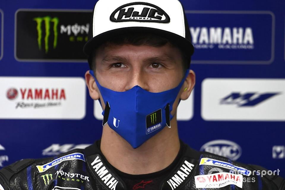 "Garrett Gerloff, Yamaha Factory Racing<span class=""copyright"">Gold and Goose / Motorsport Images</span>"