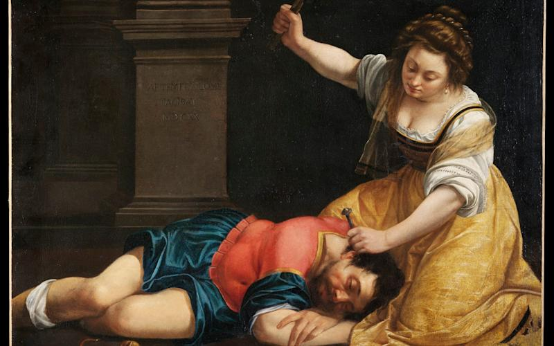 Jael and Sisera, oil on canvas - Museum of Fine Arts, Budapest