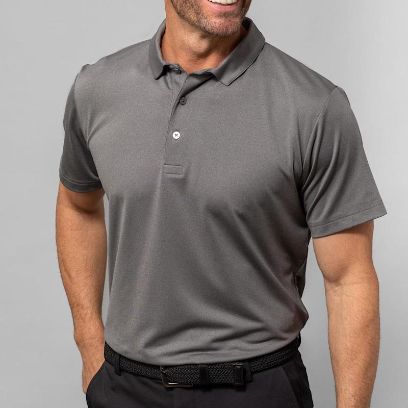 Phil Mickelson Golf Polo. Image via Mizzen + Main.