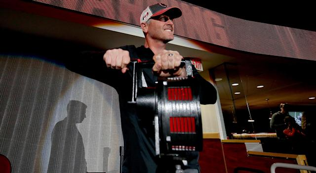Carolina Hurricanes owner Tom Dundon knows how to bring the fun. (Getty)