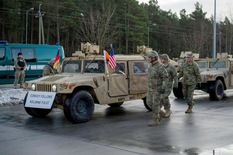 Thousands of US Troops, Tanks Advance Toward Russian Border