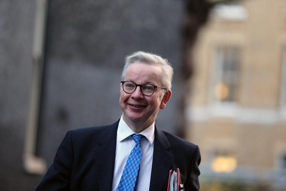 Michael Gove held talks with devolved administrations (Anadolu Agency via Getty Images)