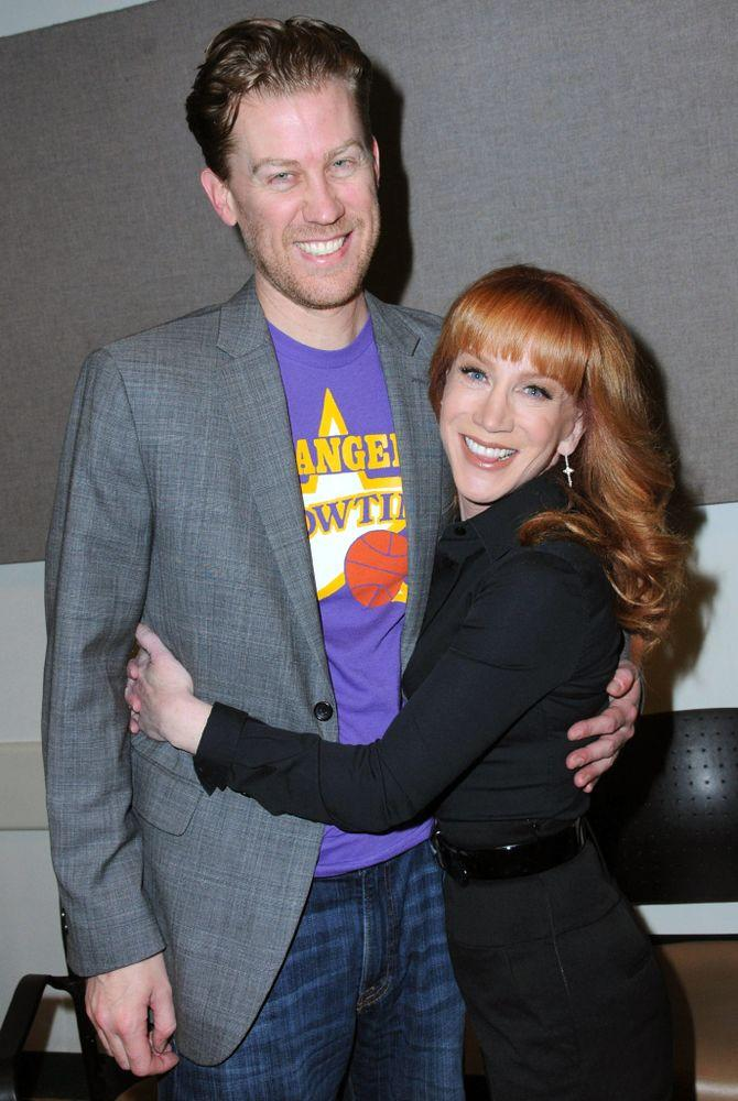 From left: Randy Bick and Kathy Griffin | Barry King/Getty